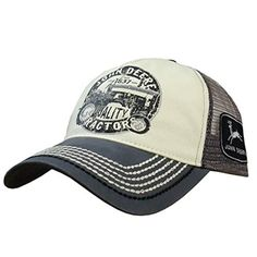 John Deere Quality Tractors Charcoal Hat. Gorro Invierno ... 4c538aeac68