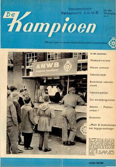 De Kampioen van mei 1961. Een nieuwe lay-out!