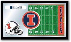 Illinois Fighting Illini Football Team Sports Mirror at SportsFansPlus.com. Visit website for detail!