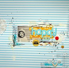 #papercraft #scrapbook #layouts