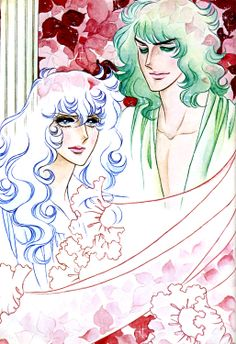 "Oscar and Andre from ""La Rose de Versaille"" by Ms.Riyoko Ikeda."