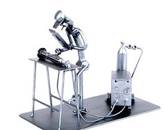 Chess Set Metaldiorama Metal Art by MetalDioramaWoodArt on Etsy