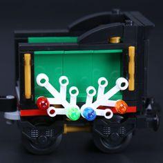 LEPIN 36001 Winter Holiday Train LegoINGlys 10254 Holiday Train, Winter Holidays, Neon Signs