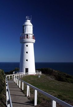 Cape Otway Lightstation - oldest surviving lighthouse in mainland Australia cape in south Victoria 	Australia