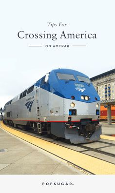 12 Things You Should Know Before Traveling Across the Country on Amtrak Like and Repin. Thx Noelito Flow. http://www.instagram.com/noelitoflow