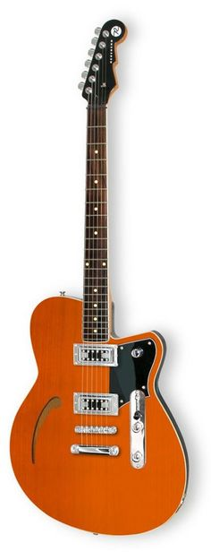 Reverend Club King Rock Orange Electric Guitar | Rainbow Guitars, really needs a bigsby