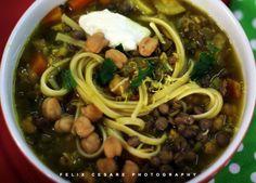 Ash-e-reshteh Persian Style Soup