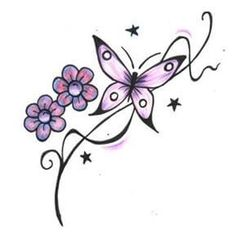 Butterfly tattoo designs – foot tattoos for women flowers Butterfly Back Tattoo, Butterfly Tattoos For Women, Butterfly Tattoo Designs, Tattoo Designs For Women, Butterfly Flowers, Butterfly Design, Butterflies, Henna Butterfly, Butterfly Project