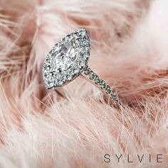 Marquise are making a comeback!!!! #Sylviecollection Pear Cut Engagement Rings, Popular Engagement Rings, Deco Engagement Ring, Vintage Engagement Rings, Art Deco Jewelry, Fine Jewelry, Jewellery, Jewelry Rings, Fashion Rings