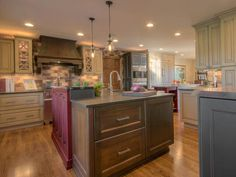 Country Appeal - Rustic Transitional Kitchen on HGTV