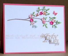 CAS224 TLC433 love life by tessaduck - Cards and Paper Crafts at Splitcoaststampers