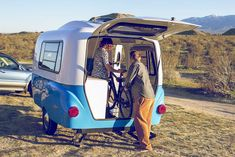 Happier Camper HC1 travel trailer combines modular convenience with vintage looks