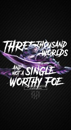 Wallpaper Phone Martis Quote by FachriFHR on DeviantArt Legend Quotes, Hero Quotes, Life Quotes, Wallpaper Hp, Mobile Legend Wallpaper, League Of Legends Jhin, Bruno Mobile Legends, Alucard Mobile Legends, Legend Games