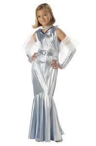 Silver Screen Starlet Glamorous Movie Star Children's Girl's Halloween Costume | eBay