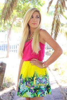 tropical #Fashion #Summer #Spring