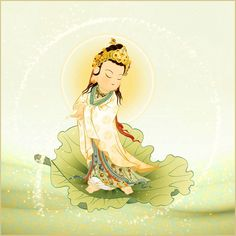 一葉觀音 Baby Buddha, Little Buddha, Create A Critter, Buddha Art, Guanyin, Chinese Art, Deities, Japanese Art, Buddhism