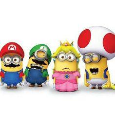 Mario crew