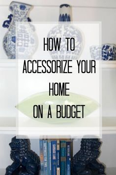 Accessories make a house a home. Learn about my favorite tips and stores to source beautiful home decor on a budget. Read this post and more on budget-friendy home decor at All Things Big And Small.