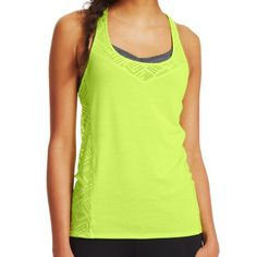 The Under Armour Stunner Lace tank is a racer back style with the Under Armour Moisture Transport Sytem to wick away sweat and moisture. In 1996, Kevin Plank, a...