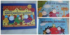 Bobita si Buburuza - Bartos Erika - Varsta 1+;  Serie de poveşti care au loc într-o mică pădure, personajele fiind o mână de prieteni, o frumoasă comunitate a unor gândăcei simpatici. Personajele principale sunt Bobiţă, băieţelul melc, şi Buburuză, fetiţa mămăruţă. Povestirile descriu mici întâmplări din viaţa de zi cu zi a personajelor, în care dragostea şi respectul faţă de natură ocupă un loc important. Cartea include doua povesti: O zi la gradinita si Paianjenul de pestera.