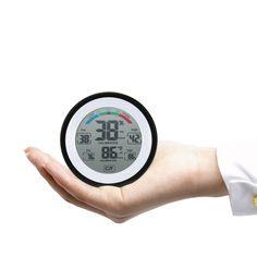 Multifunktionale Digitale Thermometer Hygrometer temperaturanzeige Luftfeuchtigkeit Meter uhr wand Max Min Wert Trend Display C/Funit