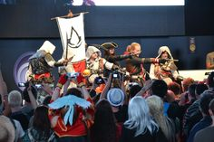 Ubisoft-Stage: Ubisoft Cosplay-Wettbewerb 2014.