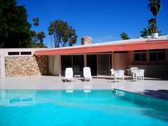Elvis' home at 1350 Ladera Circle Palm Springs, Ca  More about his homes here.,..  http://en.allexperts.com/q/Presley-Elvis-562/2010/5/Homes.htm