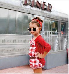 Little fashionista.