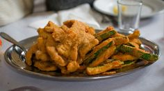Fritto Misto alla Piemontese by Matt Biddulph, via Flickr, Creative Commons. They toss in meats and vegetables, even fruit, and fry it then sprinkle salt or sugar over top. Delicious!