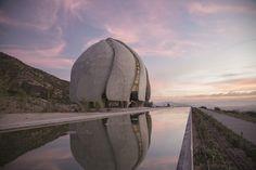 Футуристичный храм света Бахаи в Южной Америке