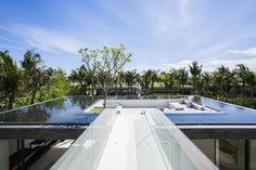 Rooftop pool on the Naman Residences by Villa B / MIA Design Studio