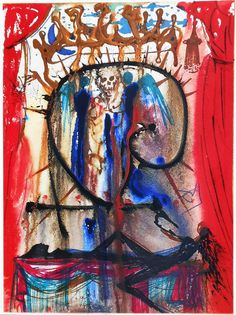 In 1975, Salvador Dali created a rare set of illustrations for Shakespeare's famous play, Romeo and Juliet.