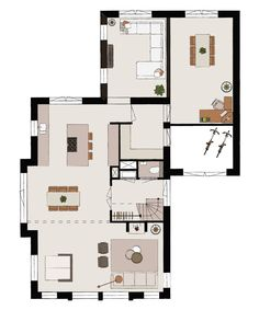 House Map, My House, Home Interior Design, Future House, Planer, Beautiful Homes, Building A House, Beach House, Architecture Design