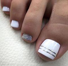 Gel Toe Nails, Gel Toes, Feet Nails, Pedicure Nails, Toenails, Toe Nail Art, Cute Toenail Designs, Pedicure Designs, Pin Trest