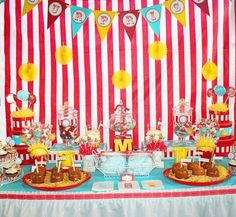 Adult Carnival/Circus Birthday Party
