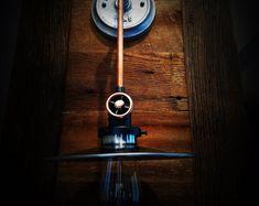 VintageIndustrialModern by 8SIX9Design on Etsy Bronze Wall Sconce, Wall Sconces, Modern Industrial, Vintage Industrial, Engine House, Star Ceiling, Ceiling Canopy, Modern Lighting, Glass Bottles