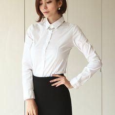 [Secret2Girls] Basic Collar Shirt