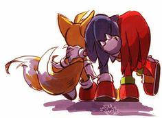 Sonic, Knuckles y Tails Amigos por siempre