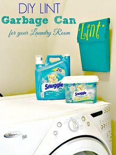 DIY Laundry Trash Can #SnuggleUpMoments #CollectiveBias #ad