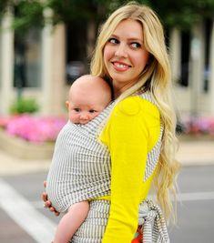 Solly Baby Wrap - project nursery #sollybaby #sollybabywrap #babywearing