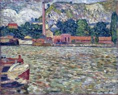 Louis Valtat Monet, Andre Derain, St Raphael, Martin Johnson, Gauguin, Pierre Bonnard, Fauvism, Modern Artists, Fishing Villages