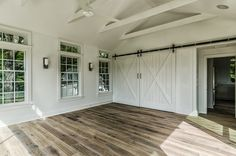 farmhouse garage and