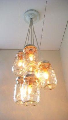 I love everything mason jar, especially DIY projects with mason jars. by kinda.conger
