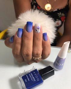 20 Modelos de Unhas desenhadas com flores fáceis de desenhar New Nail Polish, Nail Polish Colors, Toe Nail Art, Toe Nails, Acrylic Nail Designs, Nail Art Designs, Vacation Nails, Beach Nails, Girls Nails