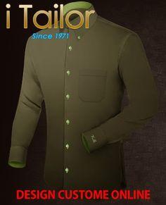 Design Custom Shirt 3D $19.95 goedkope overhemden Click http://itailor.nl/shirt-product/goedkope-overhemden_it662-3.html