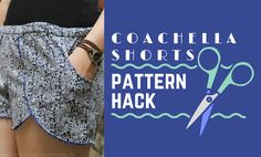 Pattern Hack | Coachella Shorts mit Taschen | Seemannsgarn