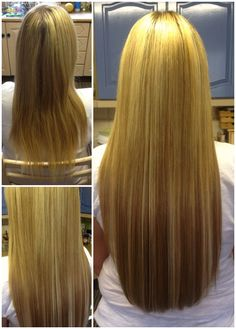 Ultrasonic cold fusion hair extensions in 18 black and off black fabulous full head of 22 ultrasonic cold fusion extensions in mixed blondes gorgeous pmusecretfo Images