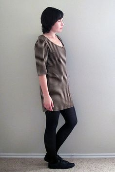 free pattern PDF full pattern and instructions, had to adjust the shoulder/neckline a bit (have narrow slightly forward shoulders}, but great pattern.  No Sign up or joining.