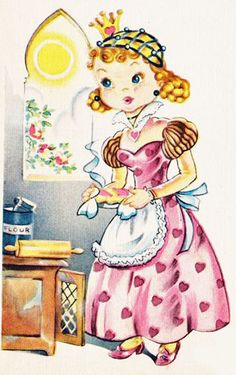 Very cute. #vintage #illustrations