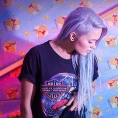 Blue Hair, Robin, Dreadlocks, T Shirts For Women, Hair Styles, Music, Google, Beauty, Tops